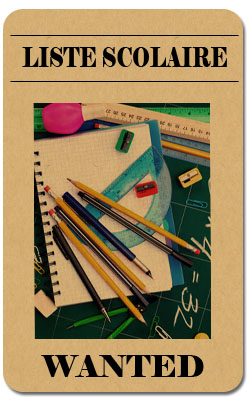 liste fournitures scolaires